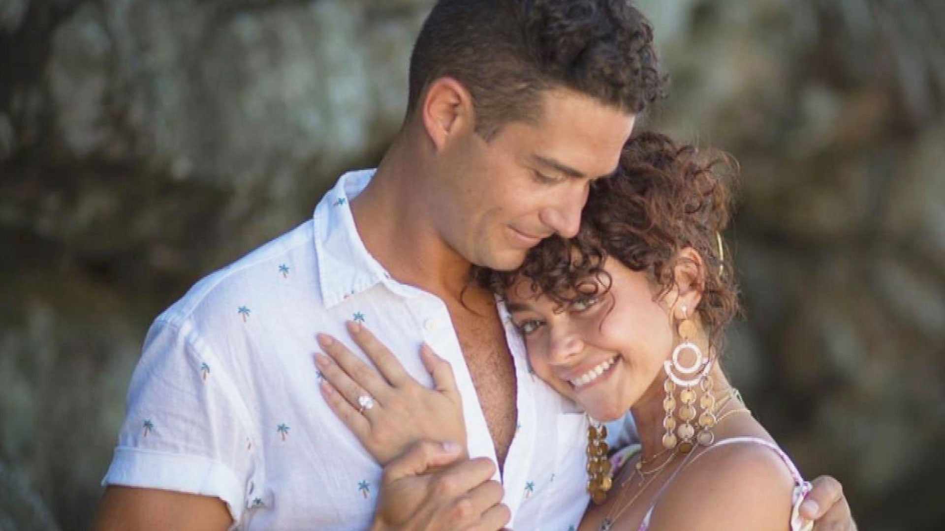 Sarah Hyland and Wells Adams Engaged! Everything They've Said About Their Romance