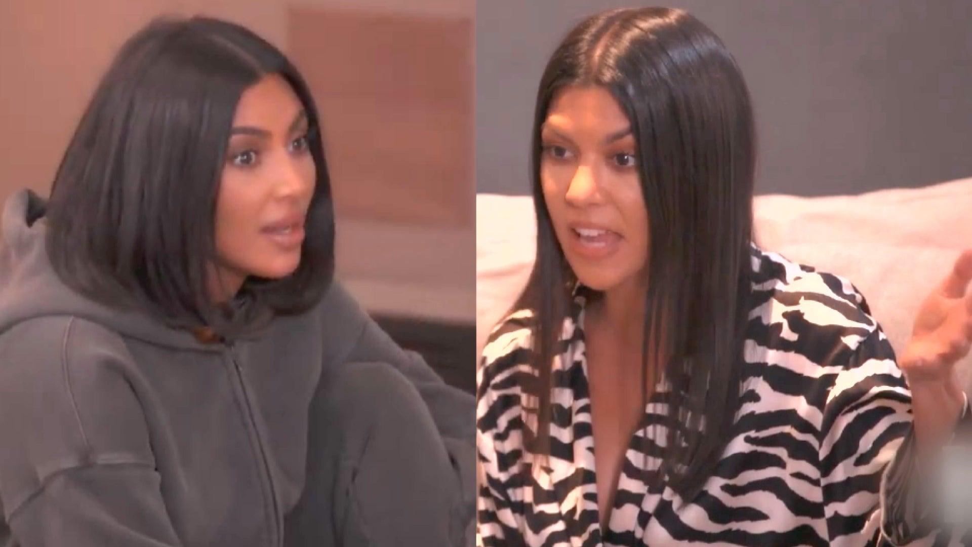 Kim & Kourtney Kardashian Get in a Massive Argument Over Daughters North & Penelope's Birthday Bash
