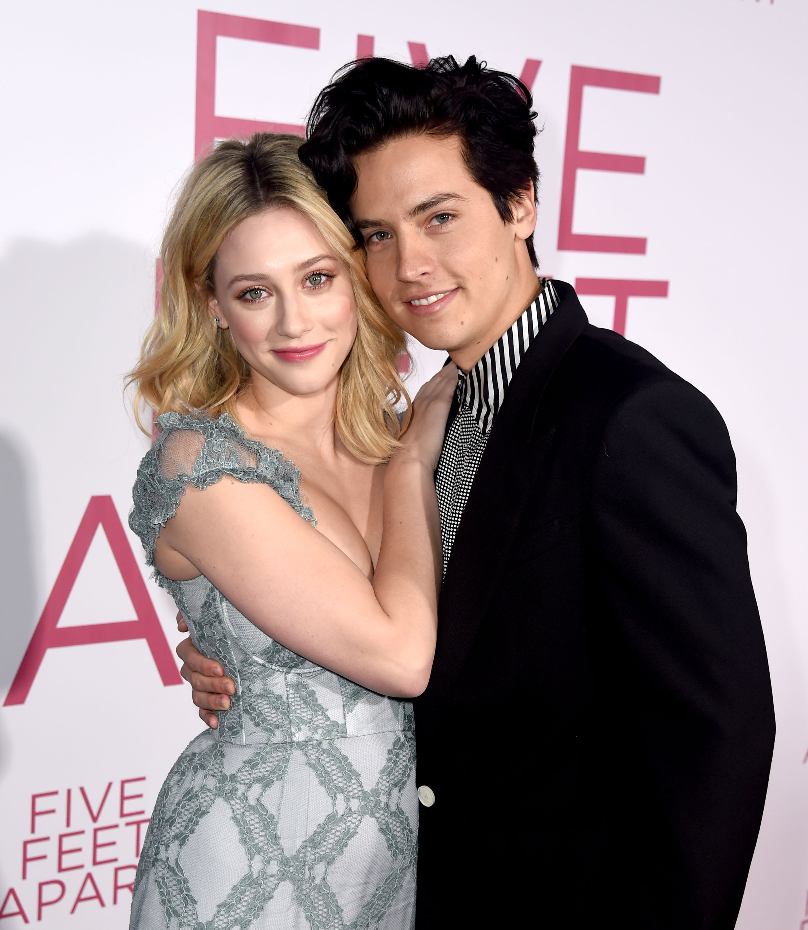 Cole Sprouse Celebrates Lili Reinhart's Birthday With PDA Pics That Will Make Bughead Fans Swoon