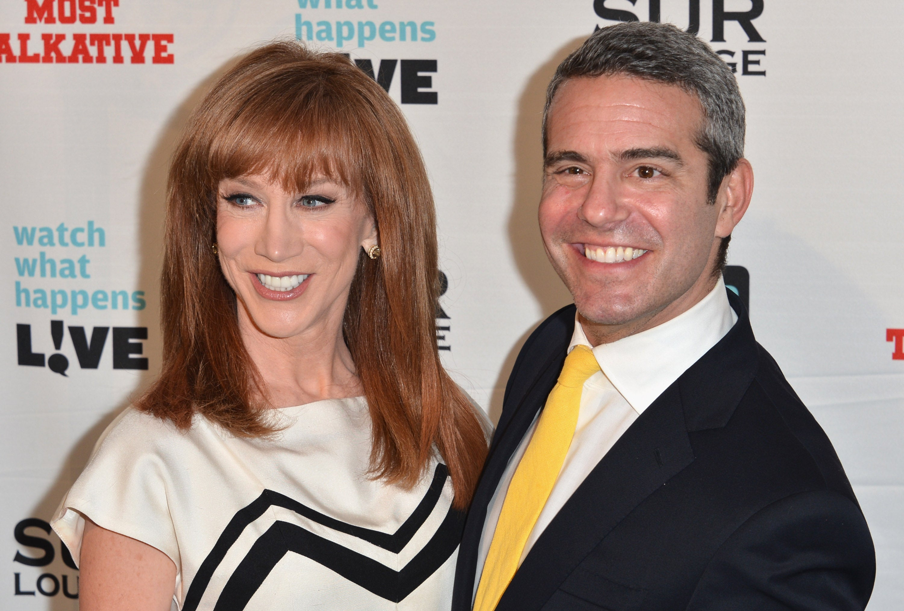 Andy Cohen Says Kathy Griffin Has Made 'Untrue and Sad' Claims About Him During Feud