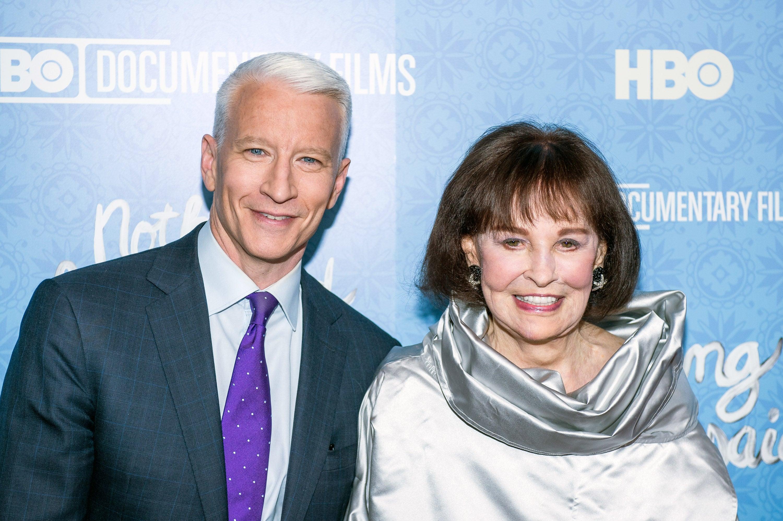 Gloria Vanderbilt's Will Reveals Son Anderson Cooper Gets