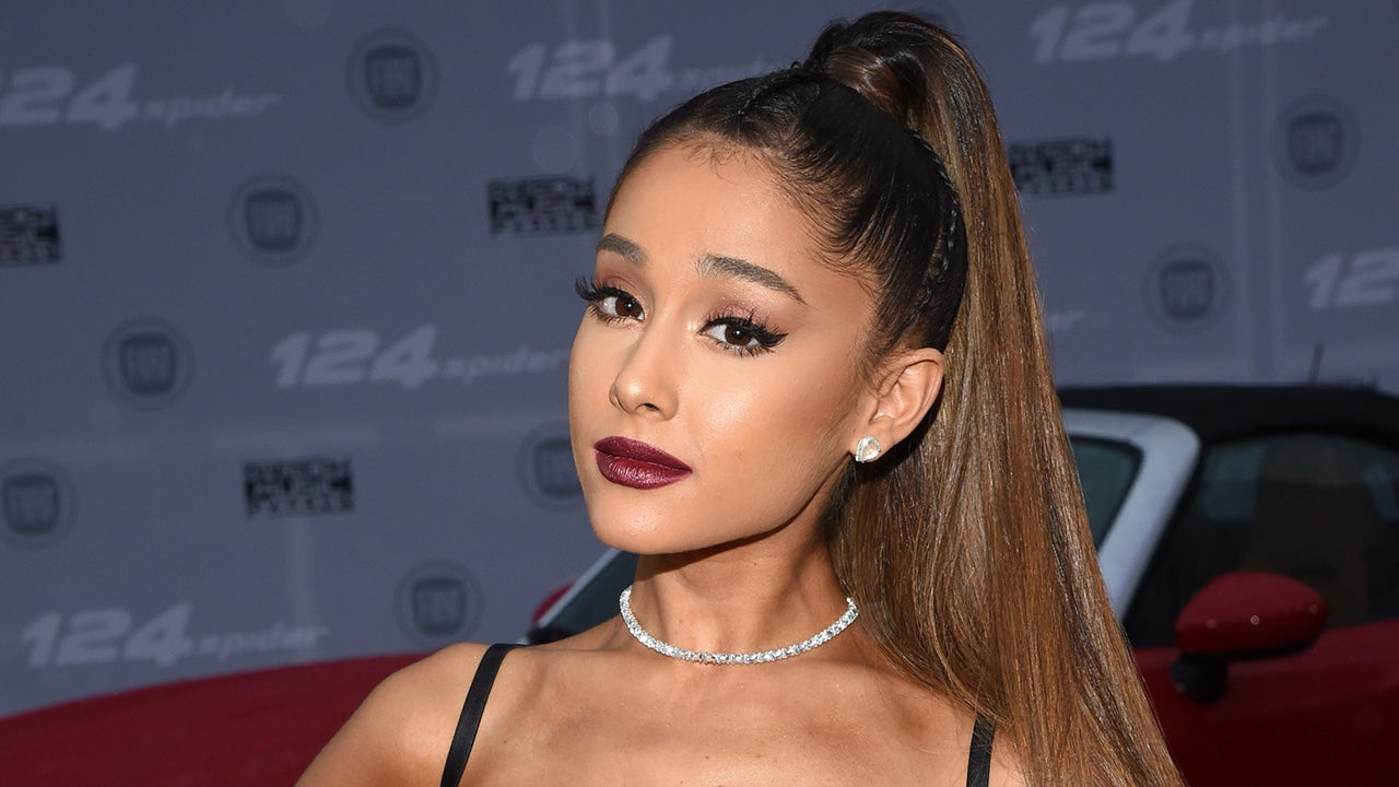 Ariana Grande Reveals Her Signature High Ponytail Has Been a Staple Since Childhood -- See the Adorable Pic!