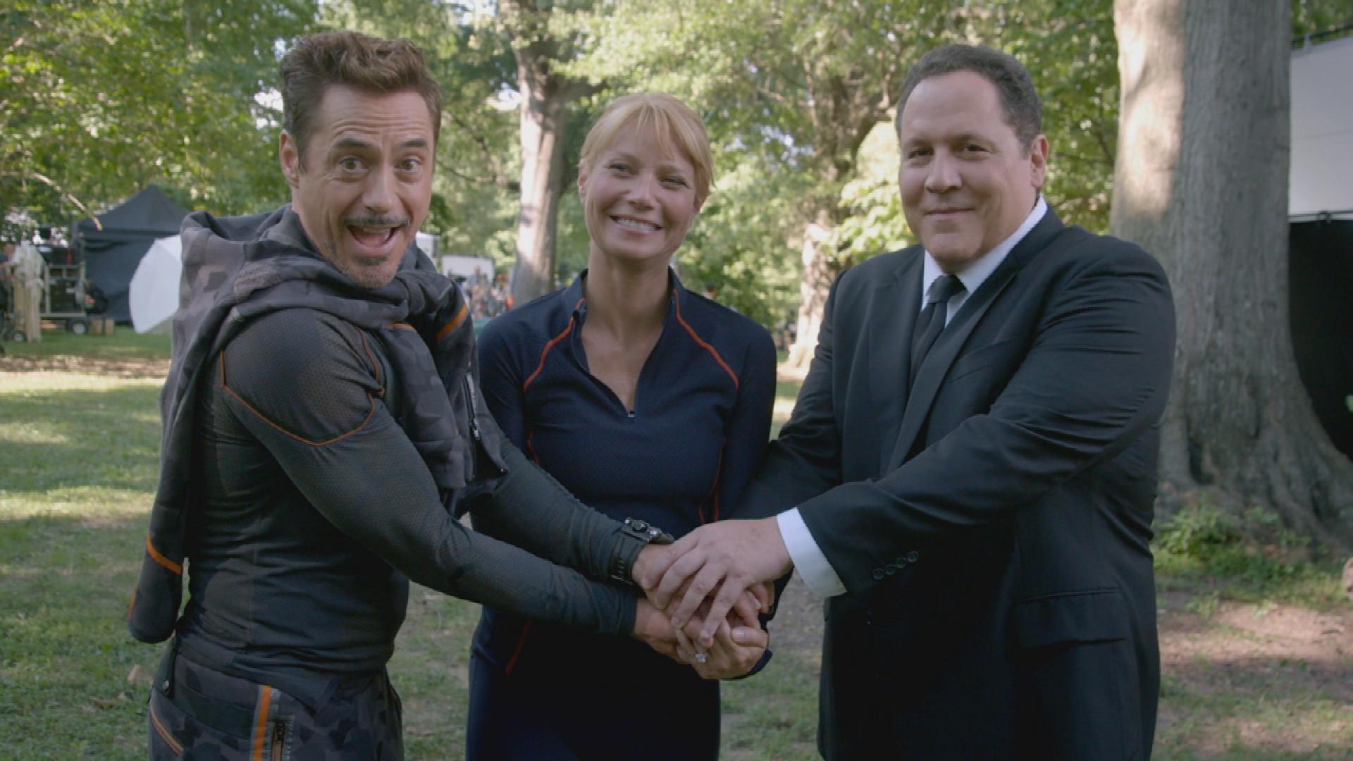 'Avengers' Gag Reel: Chris Evans, Robert Downey Jr. Through the Years! (Exclusive)