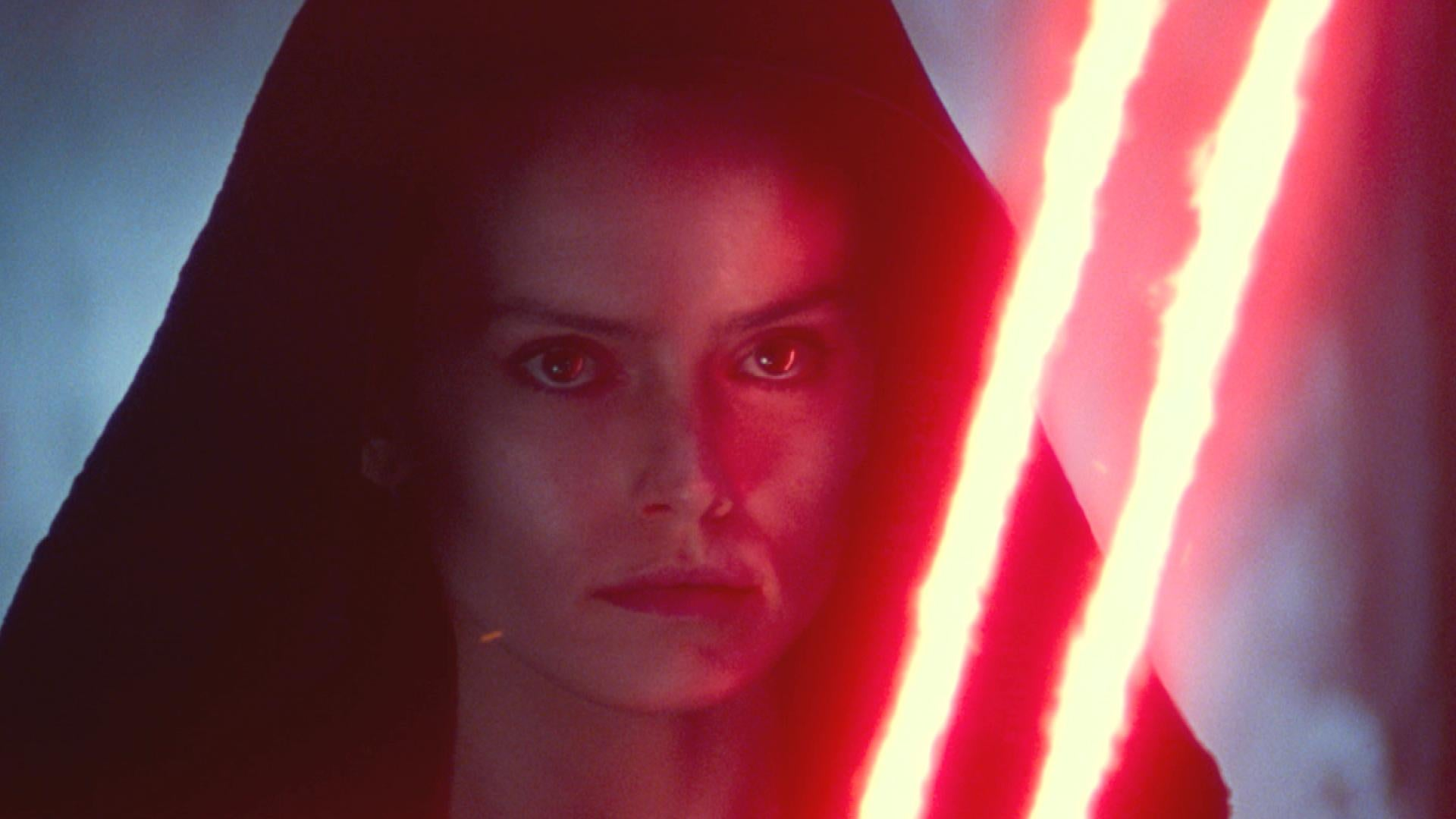'Star Wars: The Rise of Skywalker' Special Look: Is Rey Going to the Dark Side?