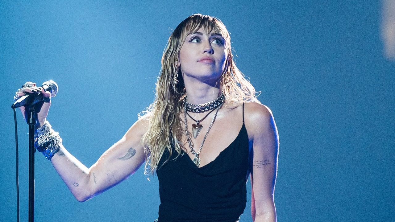 Miley Cyrus Showcases 2 New Post Breakup Tattoos At 2019 Vmas Pics Entertainment Tonight