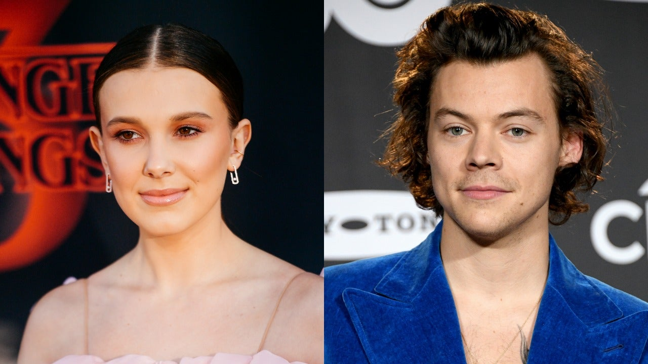 Harry Styles and Millie Bobby Brown Jam Out Together at Ariana Grande Concert