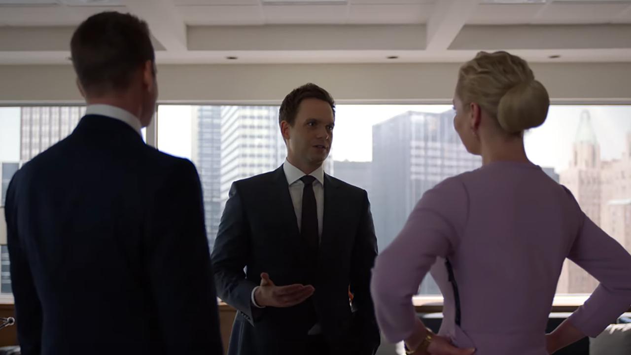'Suits' Sneak Peek: Patrick J. Adams Faces Off Against Katherine Heigl in a Battle of Wits (Exclusive)