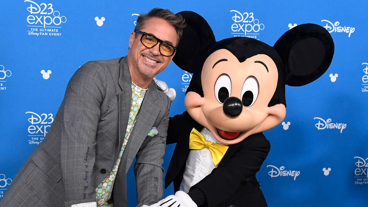 Robert Downey Jr. Jokes About Being Arrested at Disneyland During Disney Legends Ceremony