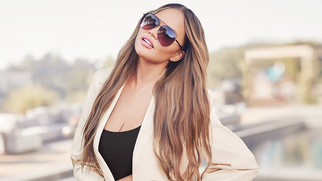 Chrissy Teigen's New Eyewear Collection Is Perfect for Back-to-School Season