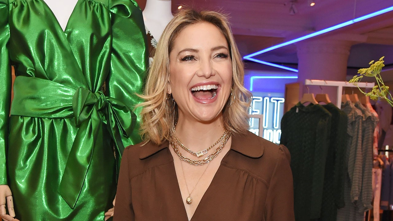 Kate Hudson Posts Selfie in New Colorful Underwear Set Created by Hollywood Stylists