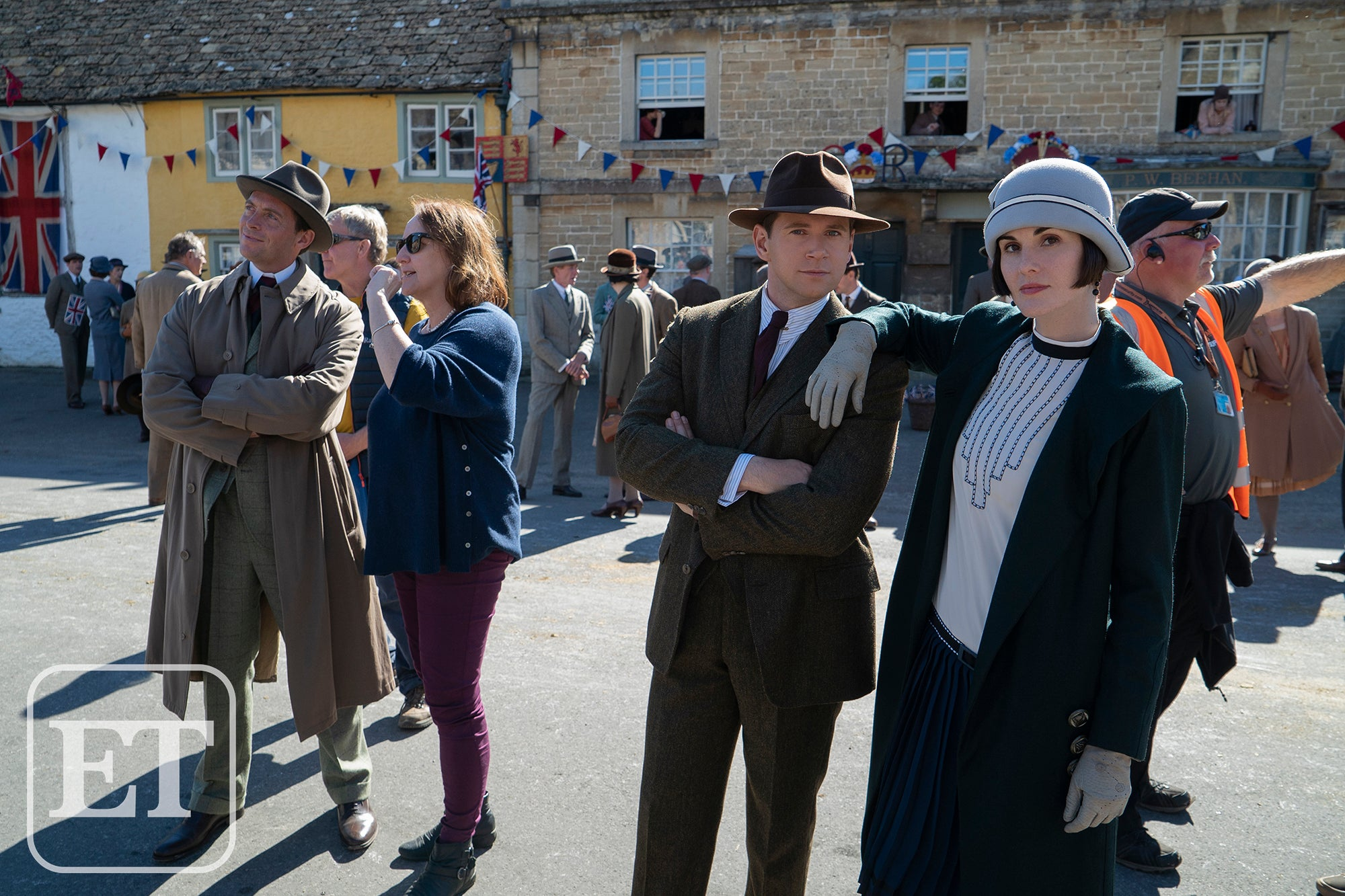 Downton Abbey': Behind the Scenes of the Movie With Michelle Dockery