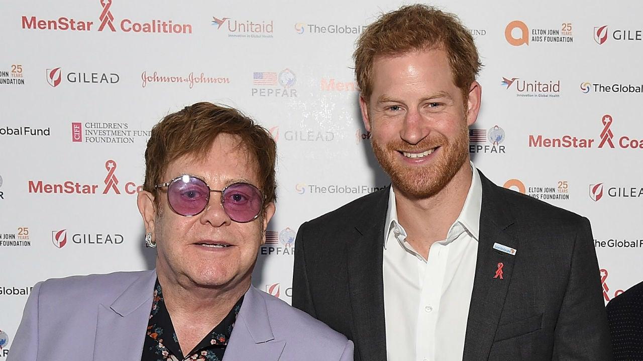 Elton John Praises Prince Harry and Meghan Markle for Suing UK Tabloids