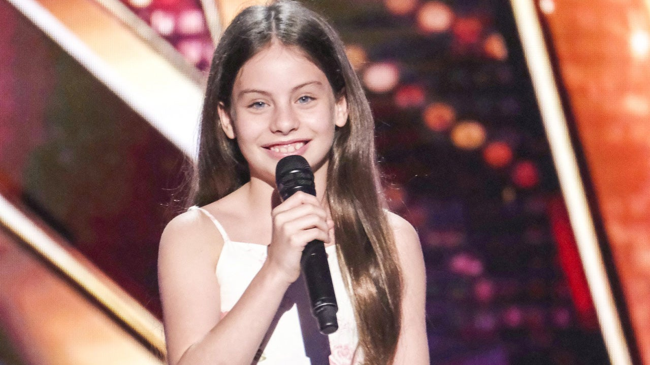 'America's Got Talent': 10-Year-Old Opera Prodigy Earns Golden Buzzer From Guest Judge Jay Leno