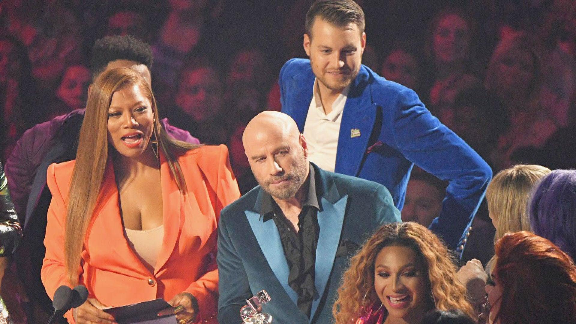 John Travolta Explains His Taylor Swift Mix-Up With 'Drag Race' Alum at VMAs