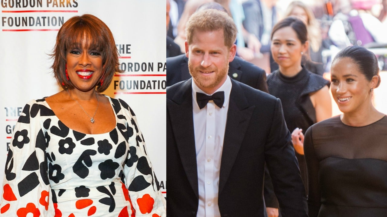 Gayle King Says Meghan Markle and Prince Harry Are 'Targets,' Defends Them Amid Private Jet Drama (Exclusive)