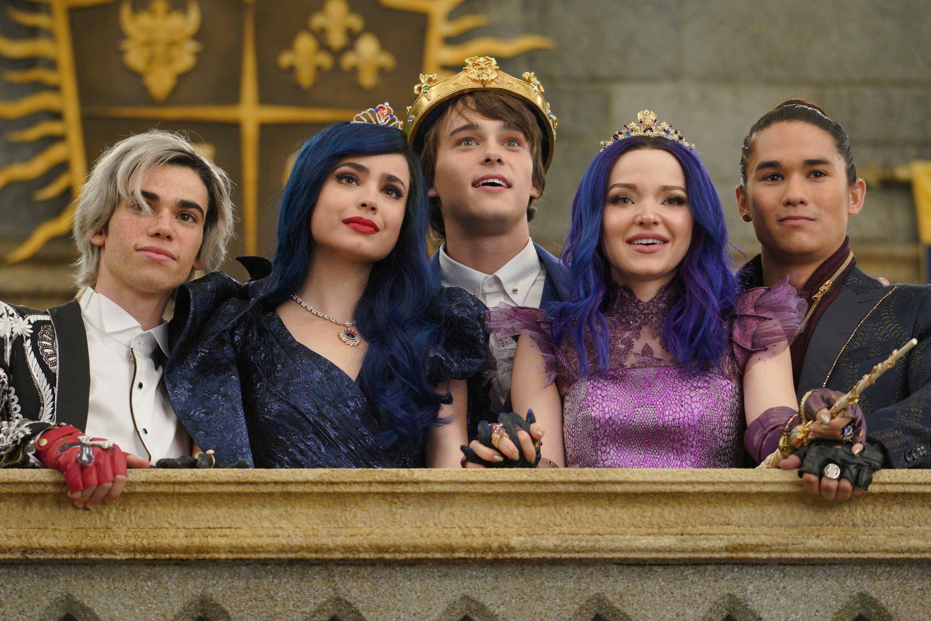 'Descendants' Stars Share Heartfelt Messages and Behind-the-Scenes Pics of Cameron Boyce Ahead of Final Sequel