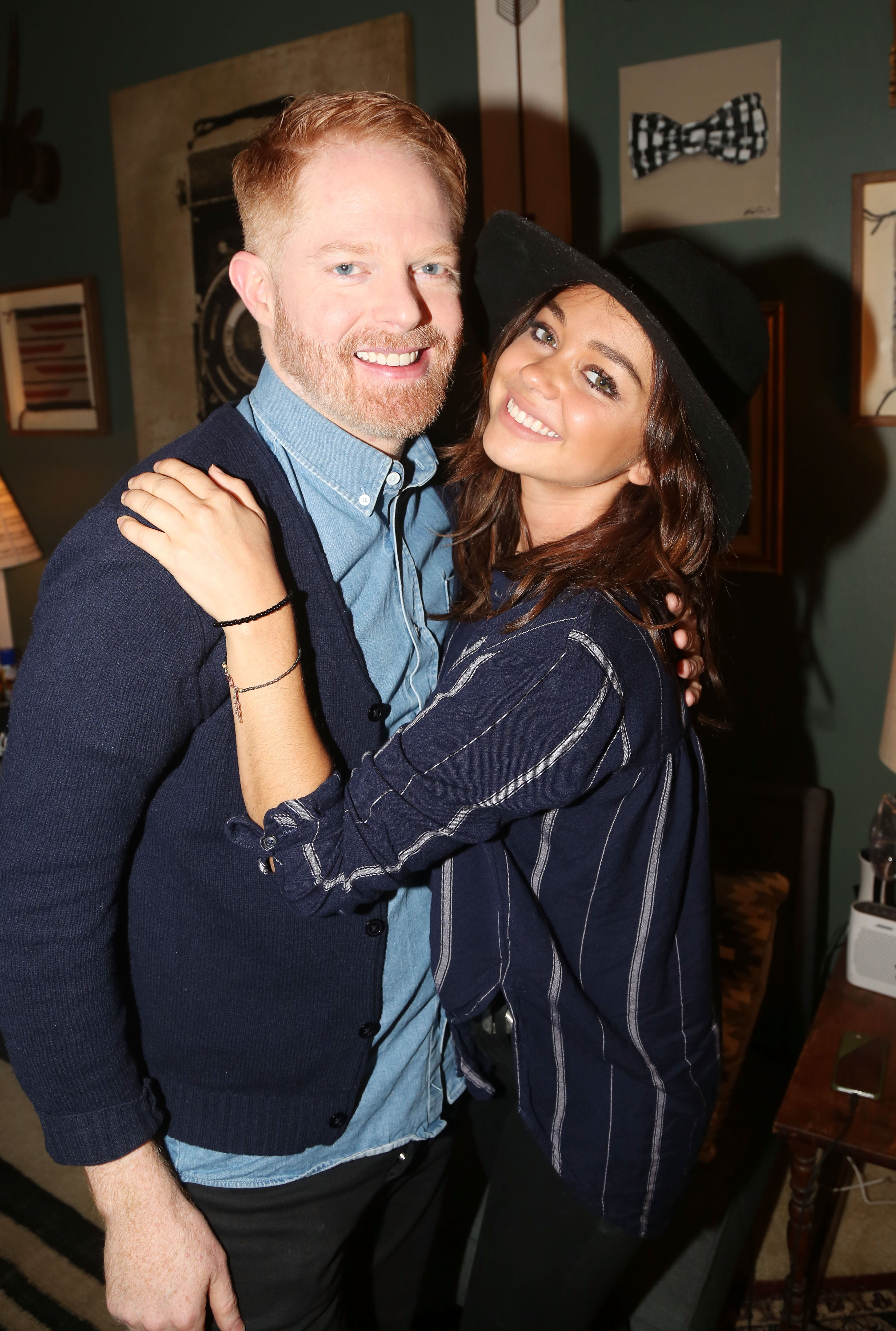 Jesse Tyler Ferguson Wants This Role at 'Modern Family' Co-Star Sarah Hyland's Wedding (Exclusive)