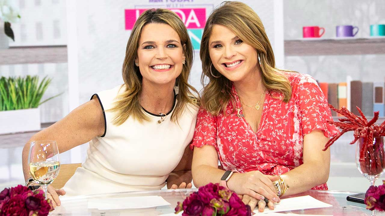 Savannah Guthrie Visits 'Today' Show Co-Host Jenna Bush Hager and Her Newborn Son: PICS