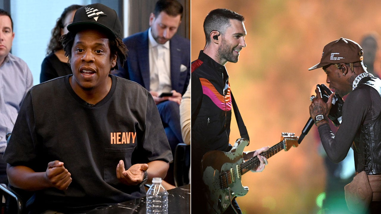JAY-Z Explains Why He Disapproved of Travis Scott Performing With Maroon 5 at Super Bowl Halftime Show