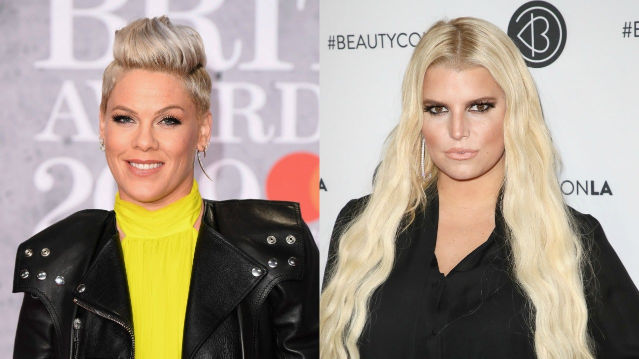 Pink Shows She's Got Jessica Simpson's Back in the Best Way After She's Mom Shamed for Dyeing Daughter's Hair