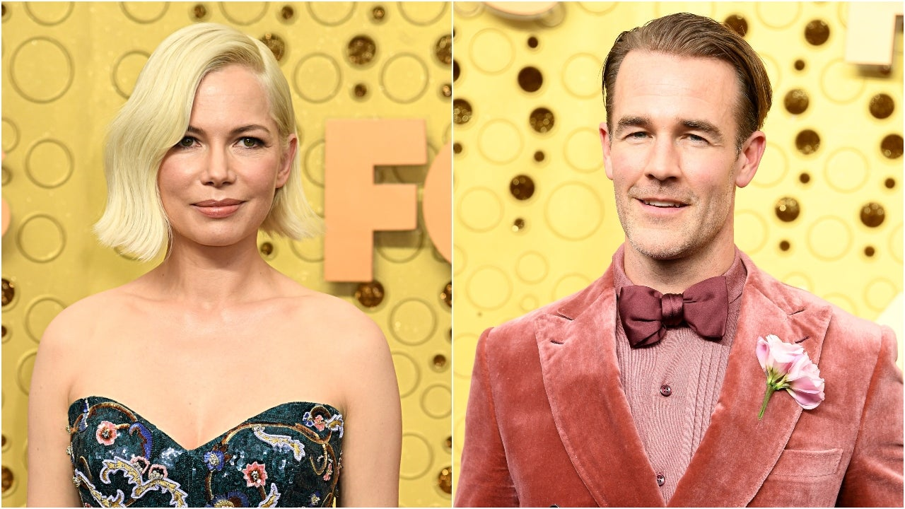 Michelle Williams Just Discovered James Van Der Beek Is on 'Dancing With the Stars' (Exclusive)