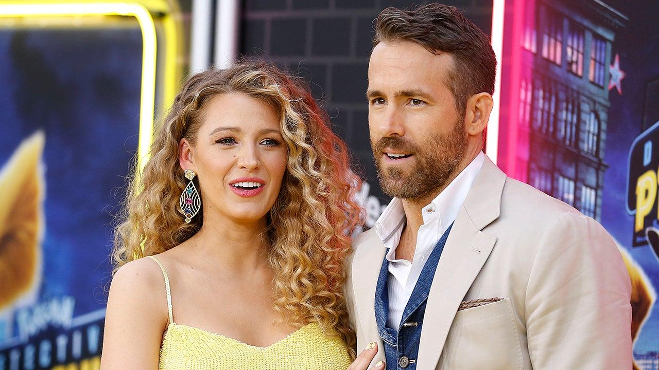 Blake Lively Posts Flirty Comment on Husband Ryan Reynolds' Sexy New Pics