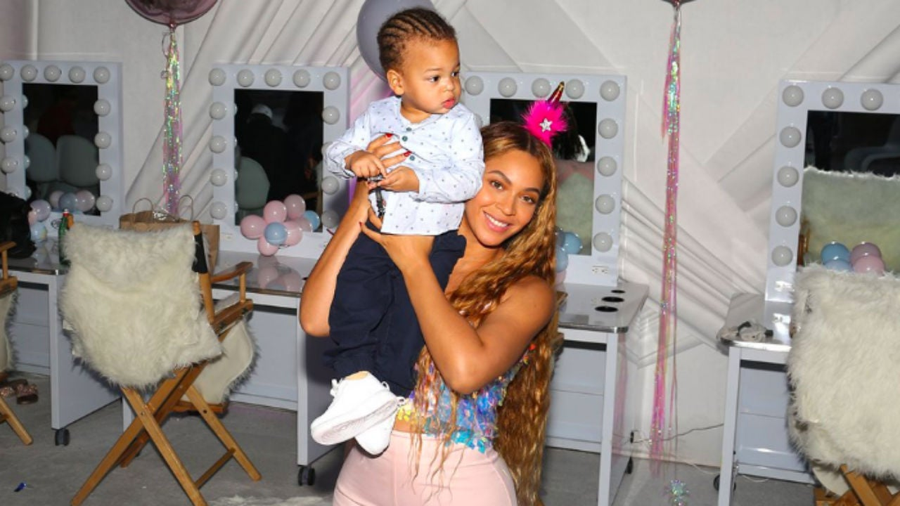 Beyoncé Shares New Photos of All Her Kids at Blue Ivy's Rose Gold-Themed 7th Birthday Party