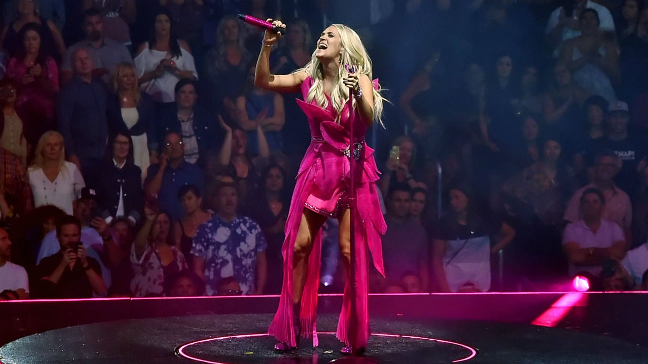 Carrie Underwood Posts Rare Photo of Son Isaiah Cheering Her on During Concert