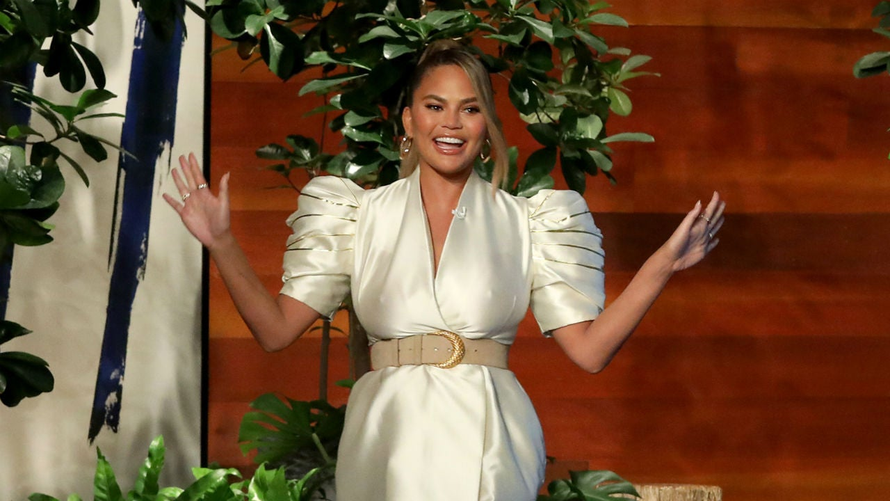 Chrissy Teigen Shares a Look at Her Epic 'Maleficent' Halloween Costume While Recovering From Wild Night