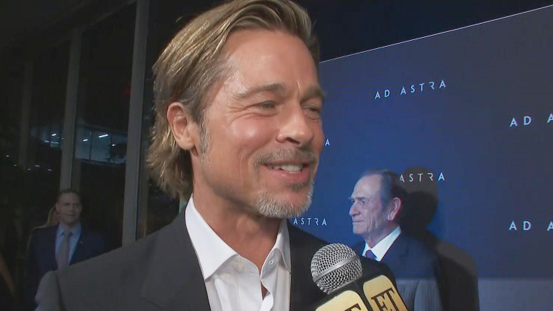Brad Pitt on Improving George Clooney's 'Gravity' Performance With His New Space Flick 'Ad Astra' (Exclusive)