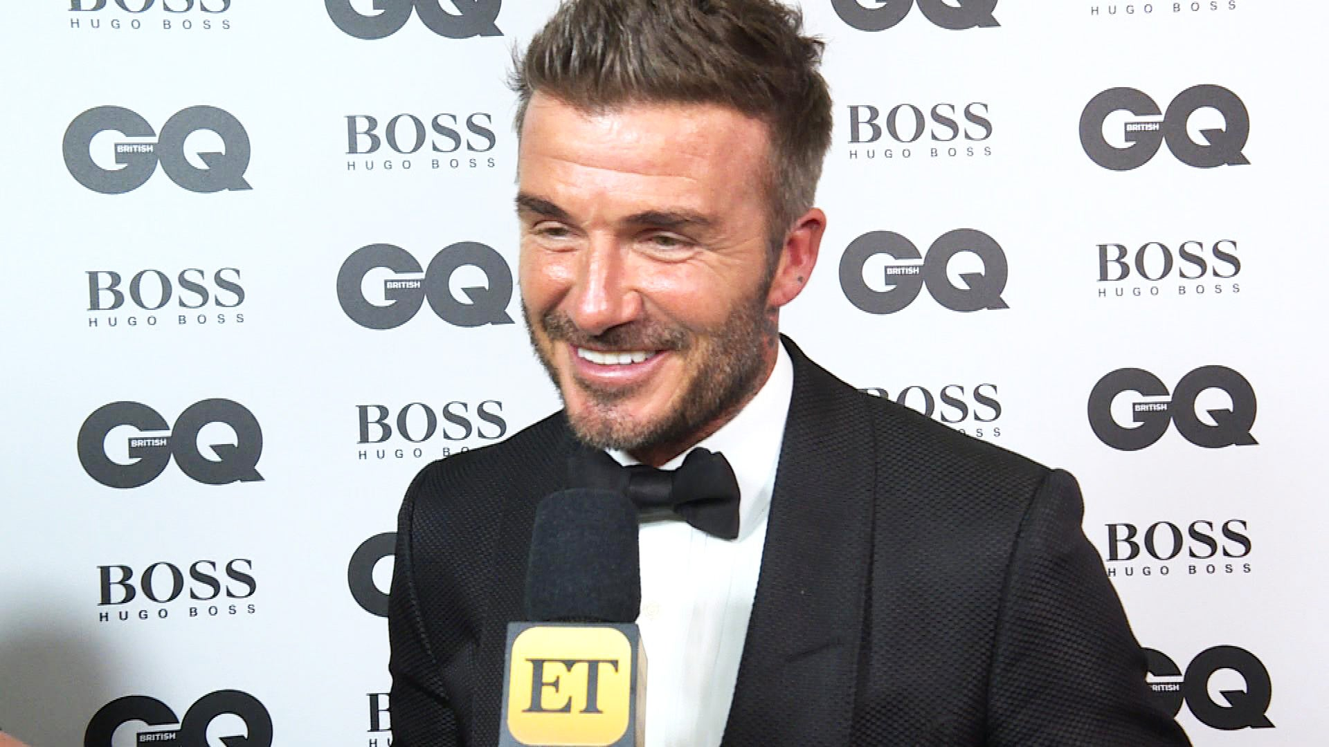 David Beckham Hilariously Recalls Son Brooklyn Teasing Him for His Short Shorts in Old 'GQ' Spread (Exclusive)
