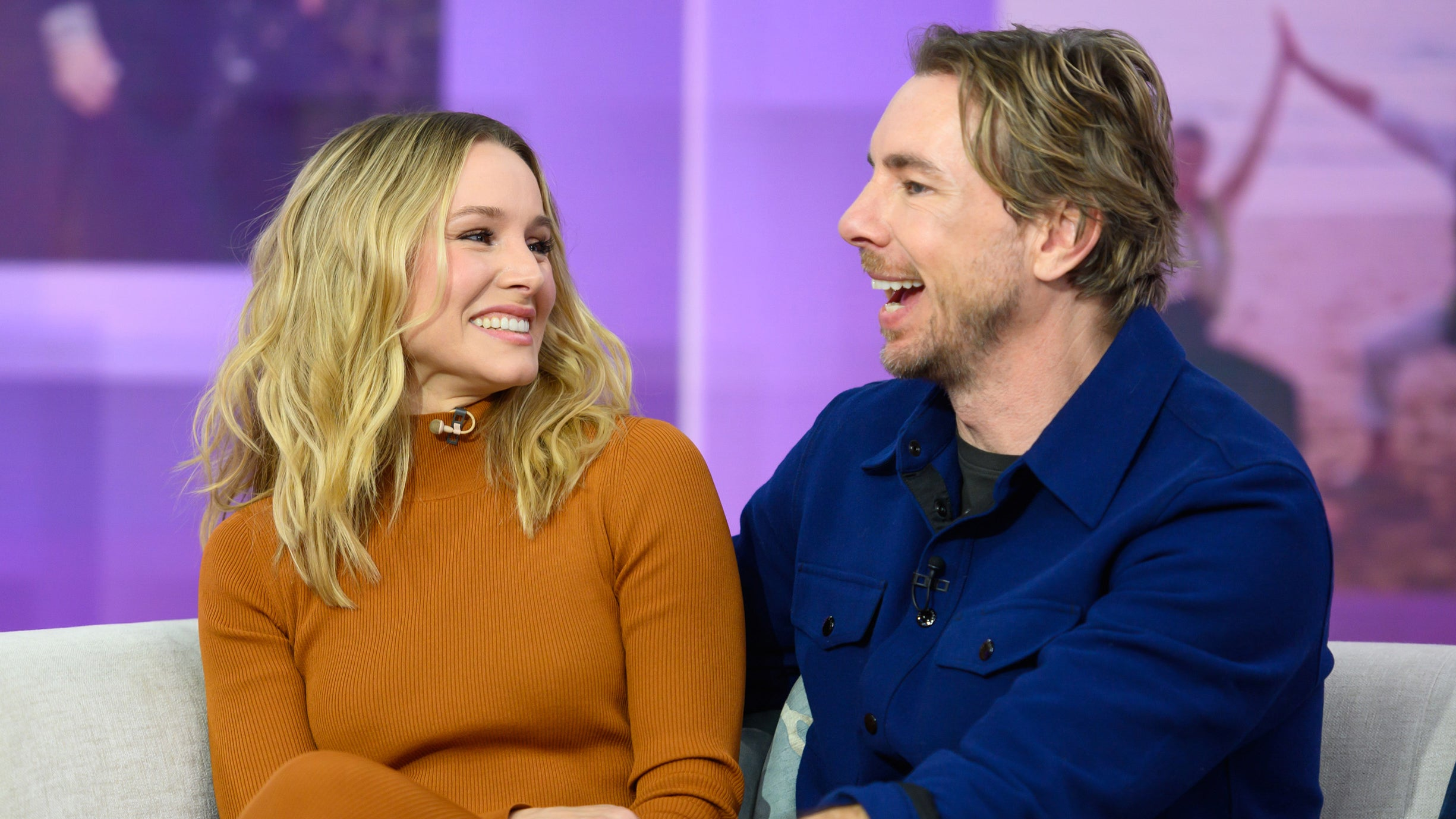 Dax Shepard and Kristen Bell's Daughter Snaps Candid Pic of the Couple Cuddled Up on the Couch