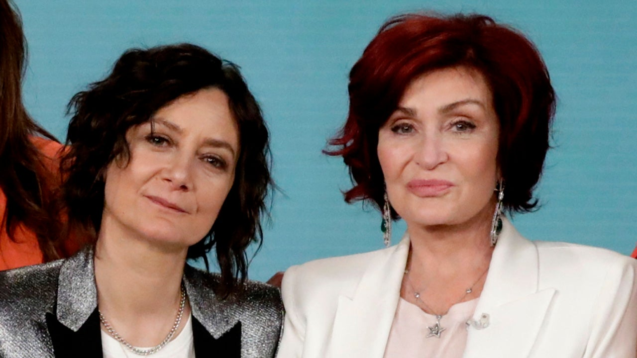 Sara Gilbert Returns to 'The Talk' With the Cast of 'The Conners'