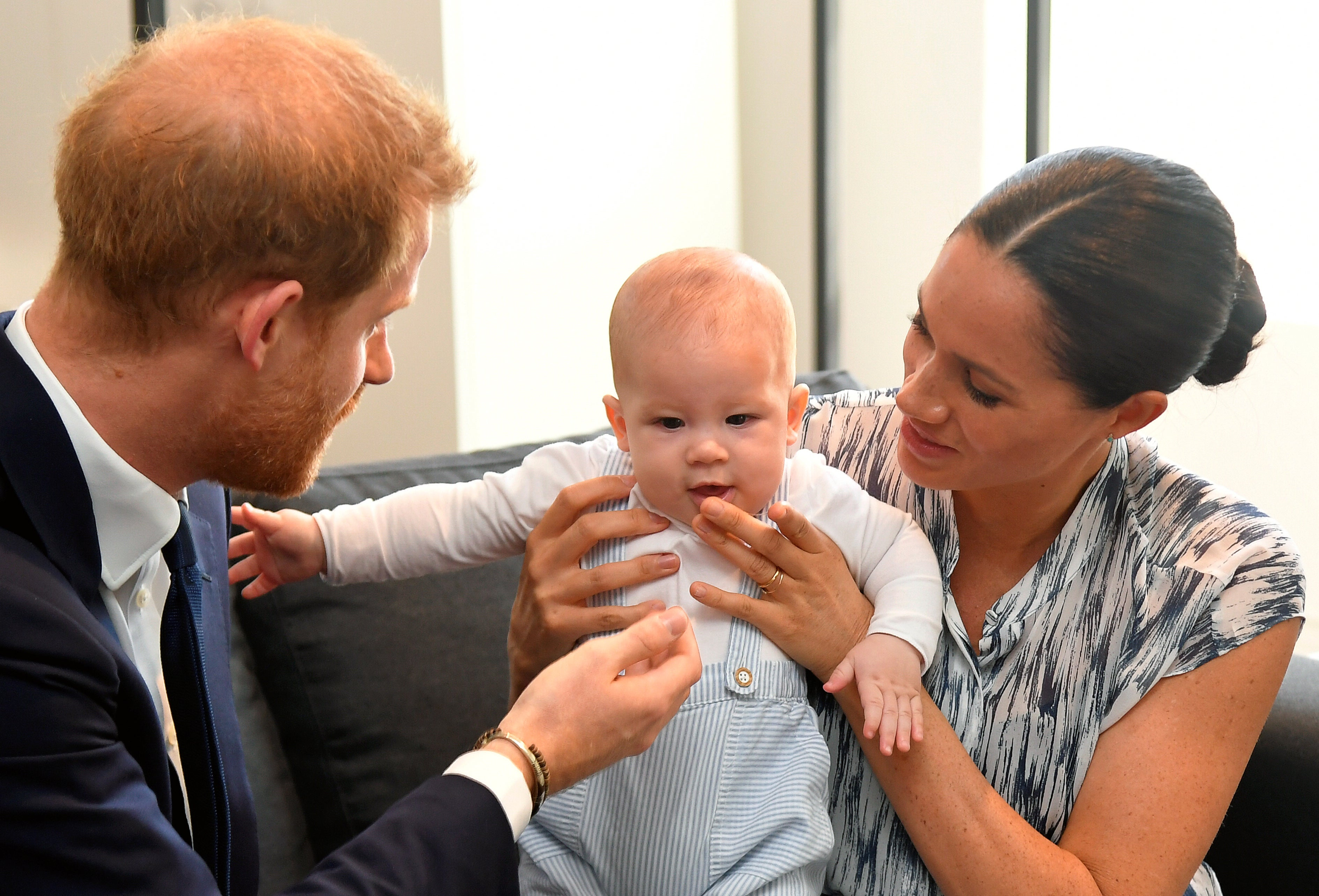 Archie Looks Just Like Dad Prince Harry as a Baby -- Here's Proof!