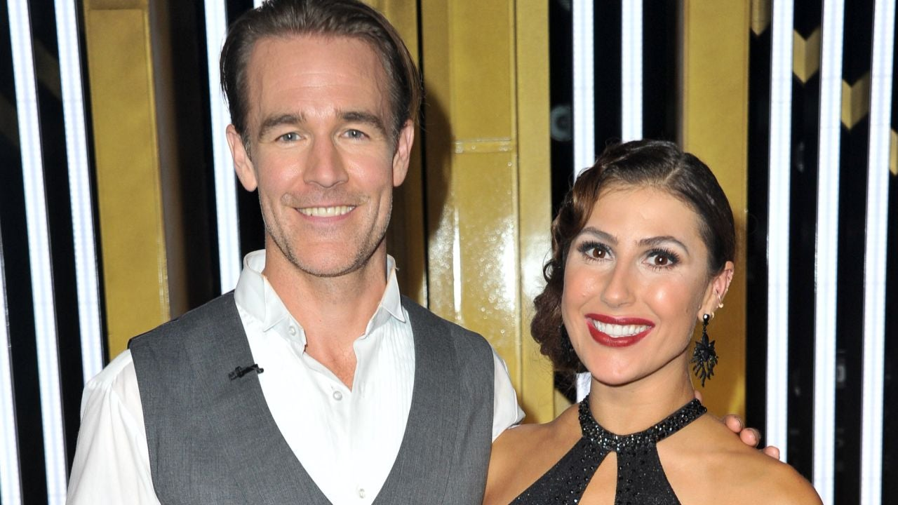 'DWTS' Frontrunners James Van Der Beek and Emma Slater Feeling 'Really Good' After Premiere Night (Exclusive)