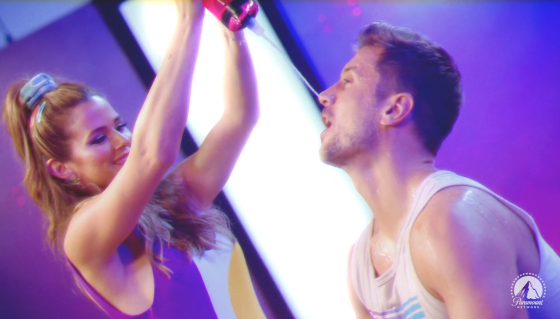 JoJo Fletcher and Jordan Rodgers Hilariously Head Back to the '80s in Workout Video for New Series (Exclusive)