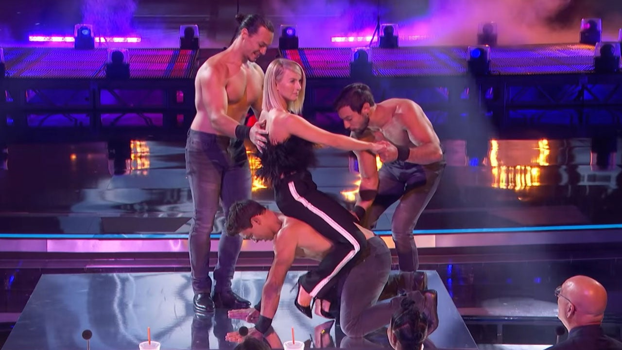 'America's Got Talent': Julianne Hough on Joining Sexy Acrobats for 'Magic Mike' Performance (Exclusive)