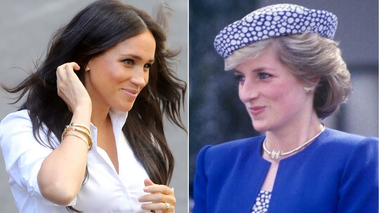 what meghan markle can learn from princess diana s own struggles with the media exclusive entertainment tonight what meghan markle can learn from