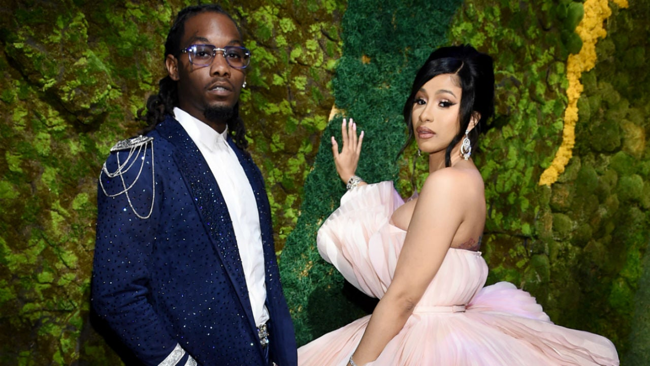 Offset Says He Sees an Oscar in Cardi B's Future, Reveals Daughter Kulture Is Singing (Exclusive)