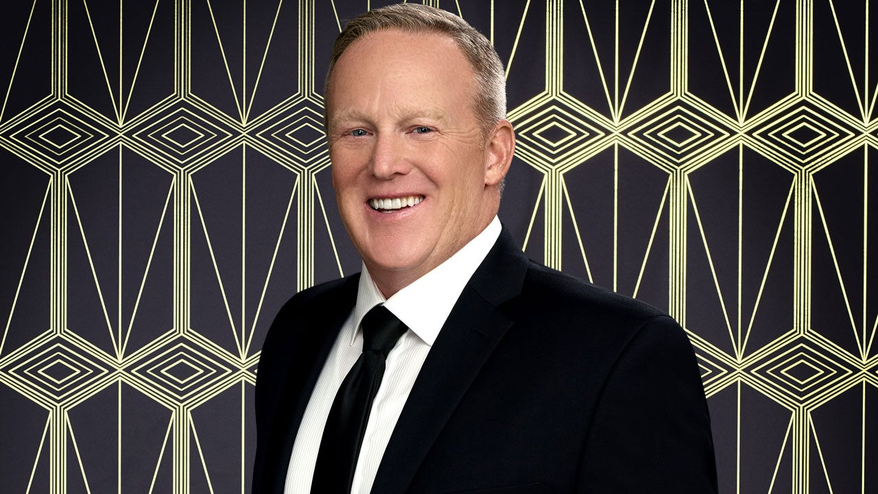 Sean Spicer Attempts to Combat 'DWTS' Controversy With Neon Green Shirt and 'Spice Girls' Routine