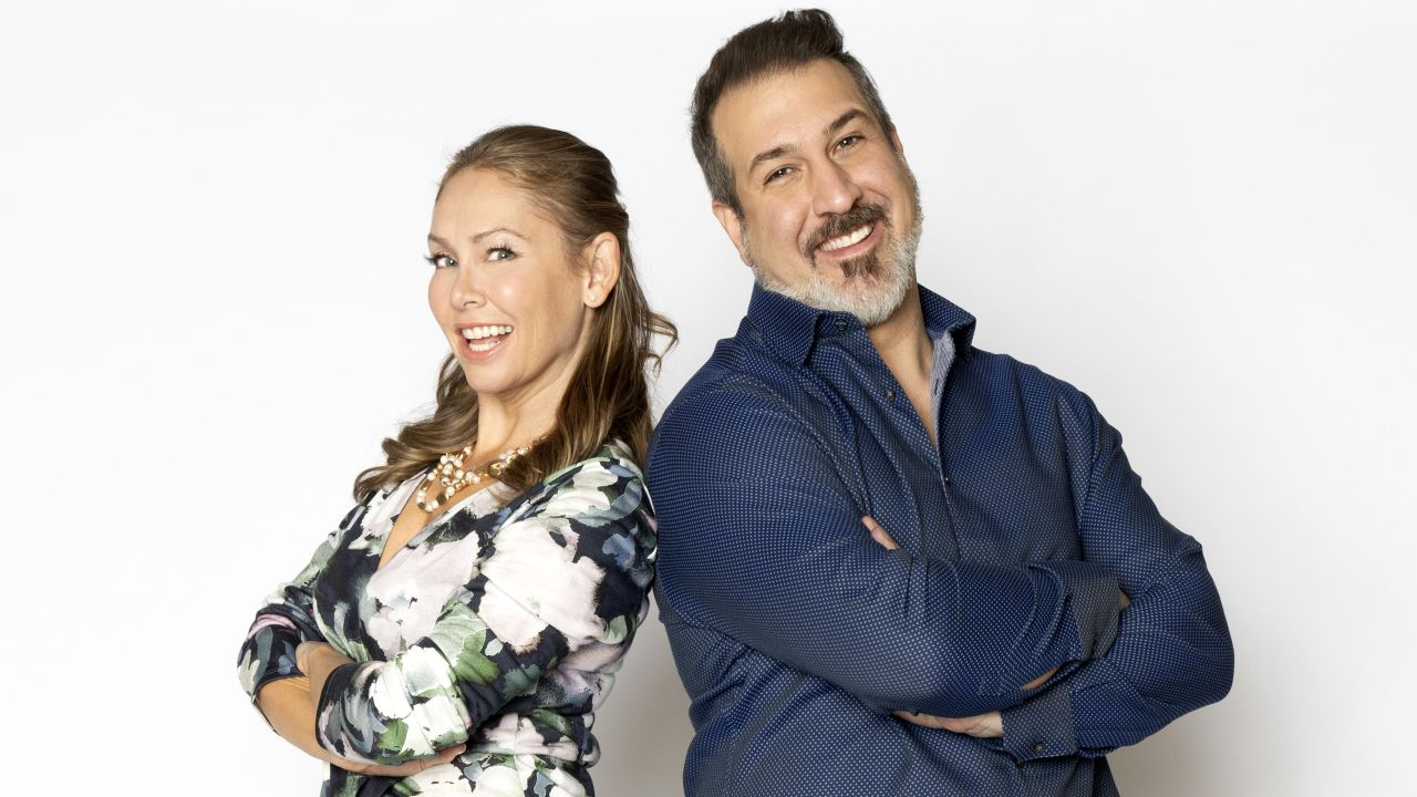 Former 'DWTS' Partners Kym Johnson Herjavec and Joey Fatone Reunite for New Movie (Exclusive)