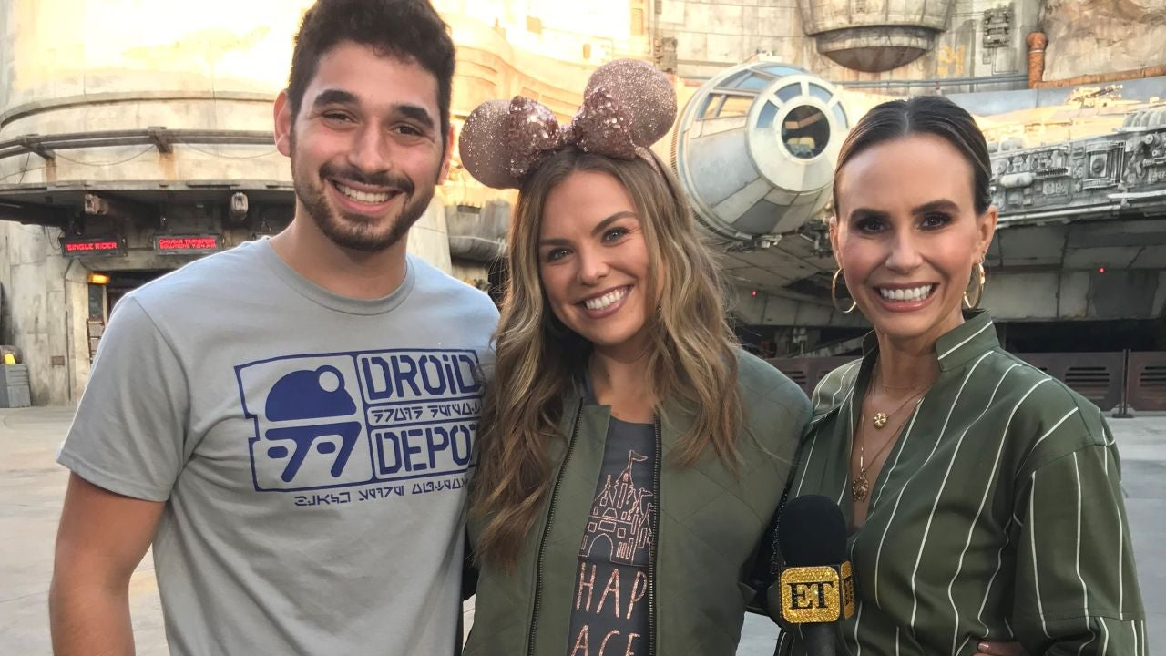'Dancing With the Stars' Cast Takes Over Disneyland With Entertainment Tonight (Exclusive)