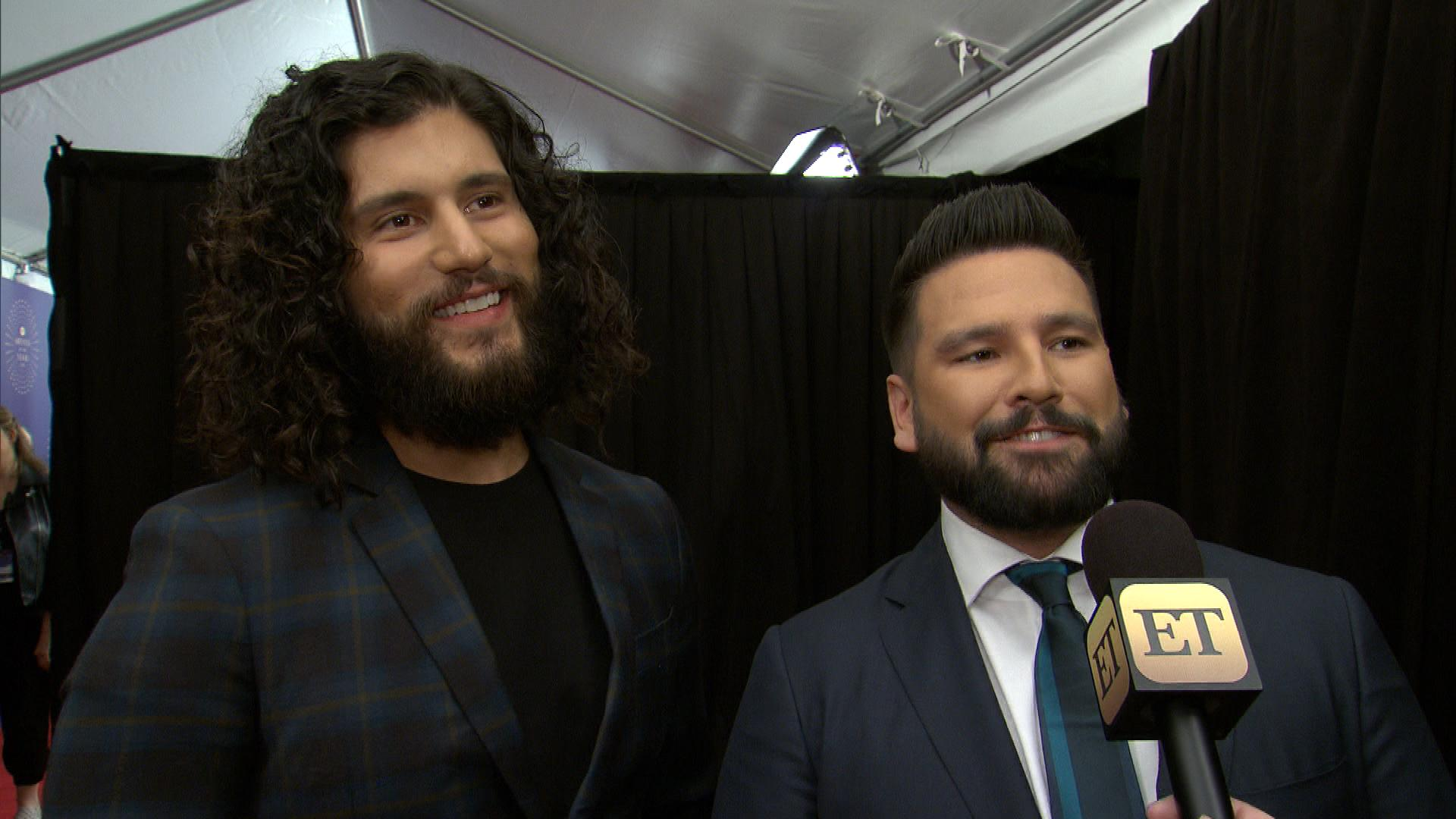 Dan + Shay Dish on Their Impromptu Performance at Justin and Hailey Bieber's Wedding (Exclusive)