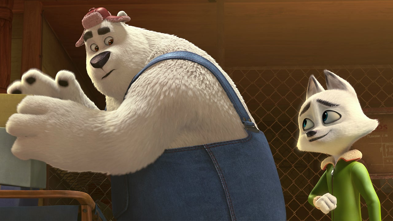 Jeremy Renner and Alec Baldwin Voice Animated Best Friends in 'Arctic Dogs' (Exclusive Clip)