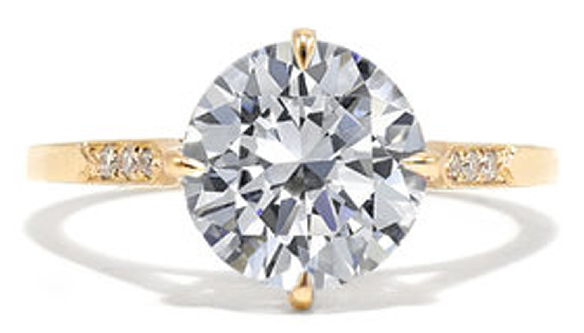 Ashley Zhang iris engagement ring