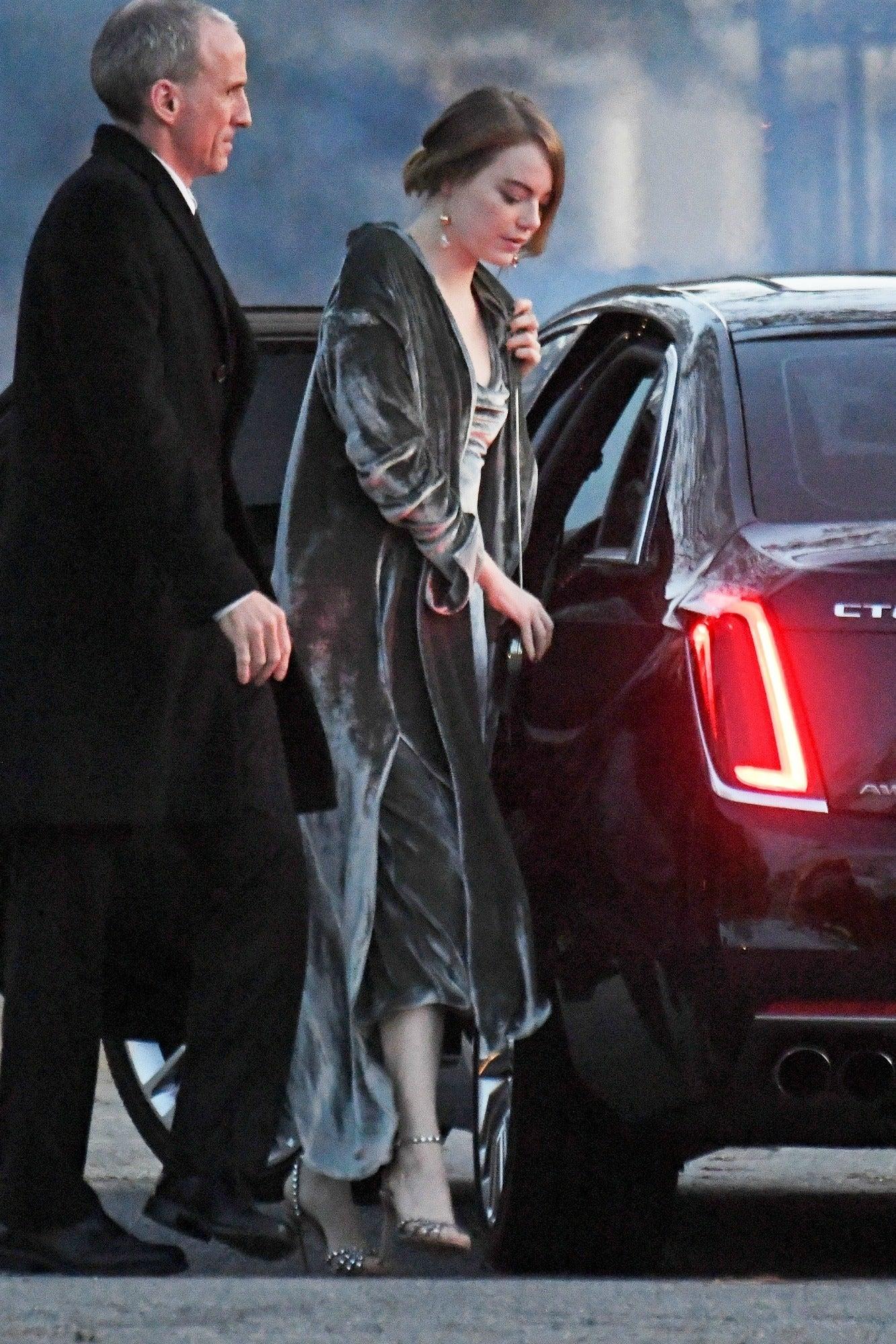 Emma Stone, Kris Jenner & More Stars Attend Jennifer Lawrence's Wedding in Rhode Island