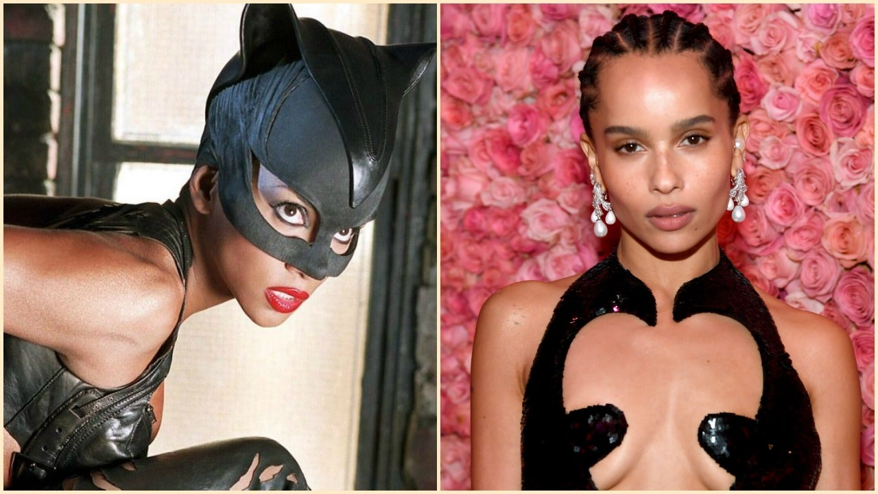 Halle Berry Congratulates New Catwoman Zoe Kravitz: 'Welcome to the Family!'