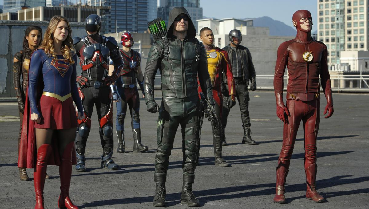 'Crisis on Infinite Earths': All the On-Set Photos From the Epic CW Crossover