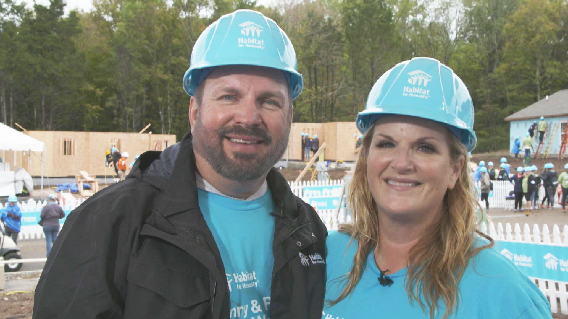 Garth Brooks and Trisha Yearwood on Building Homes for a Good Cause (Exclusive)