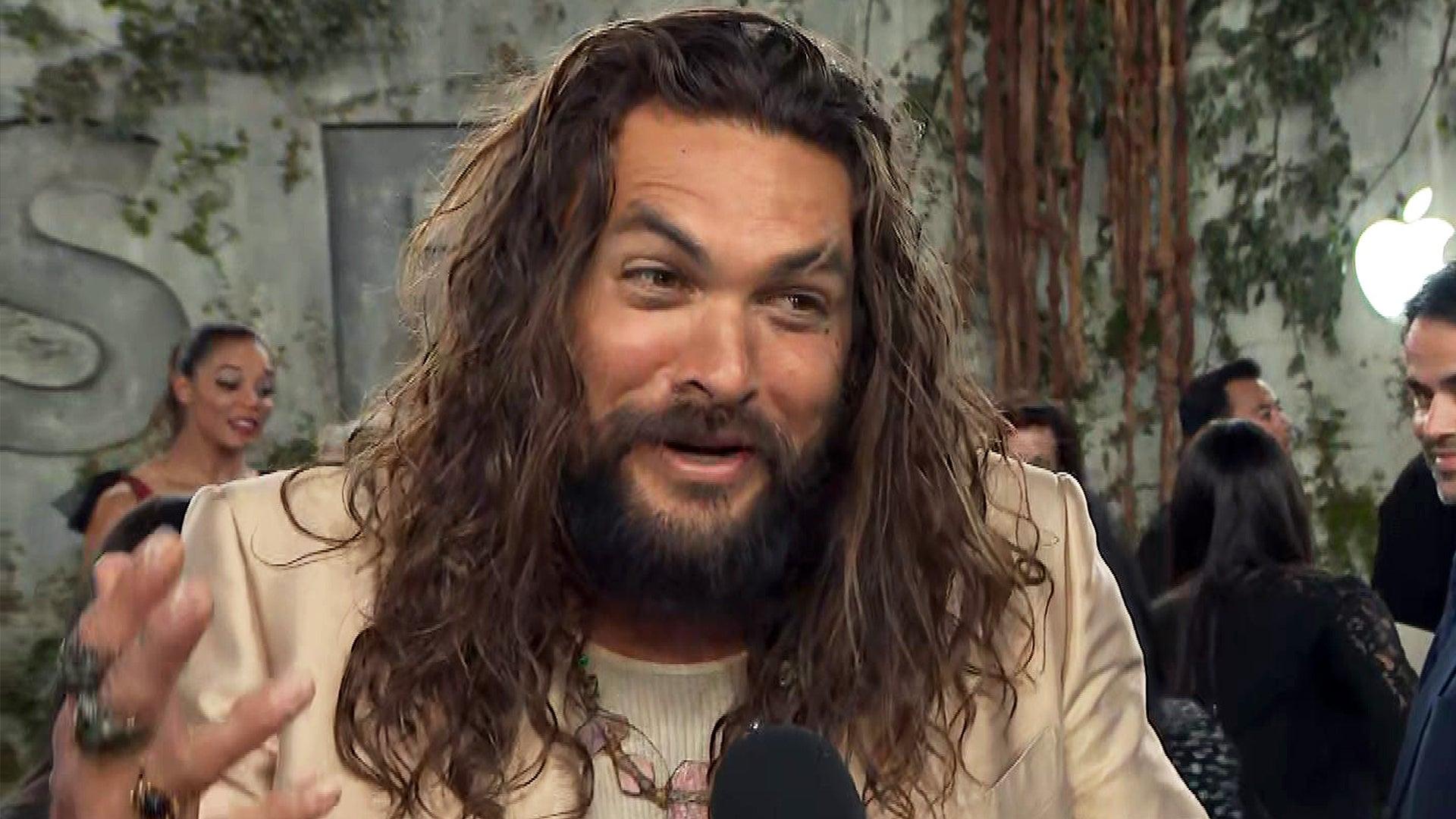 Jason Momoa Teases 'Way Bigger' 'Aquaman' Sequel (Exclusive)